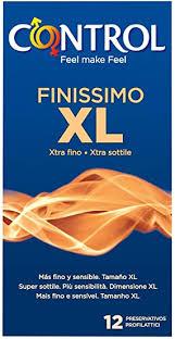 Preservativos Finissimo XL Control