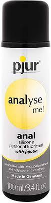 Lubricante anal silicona Analyse me! Pjur