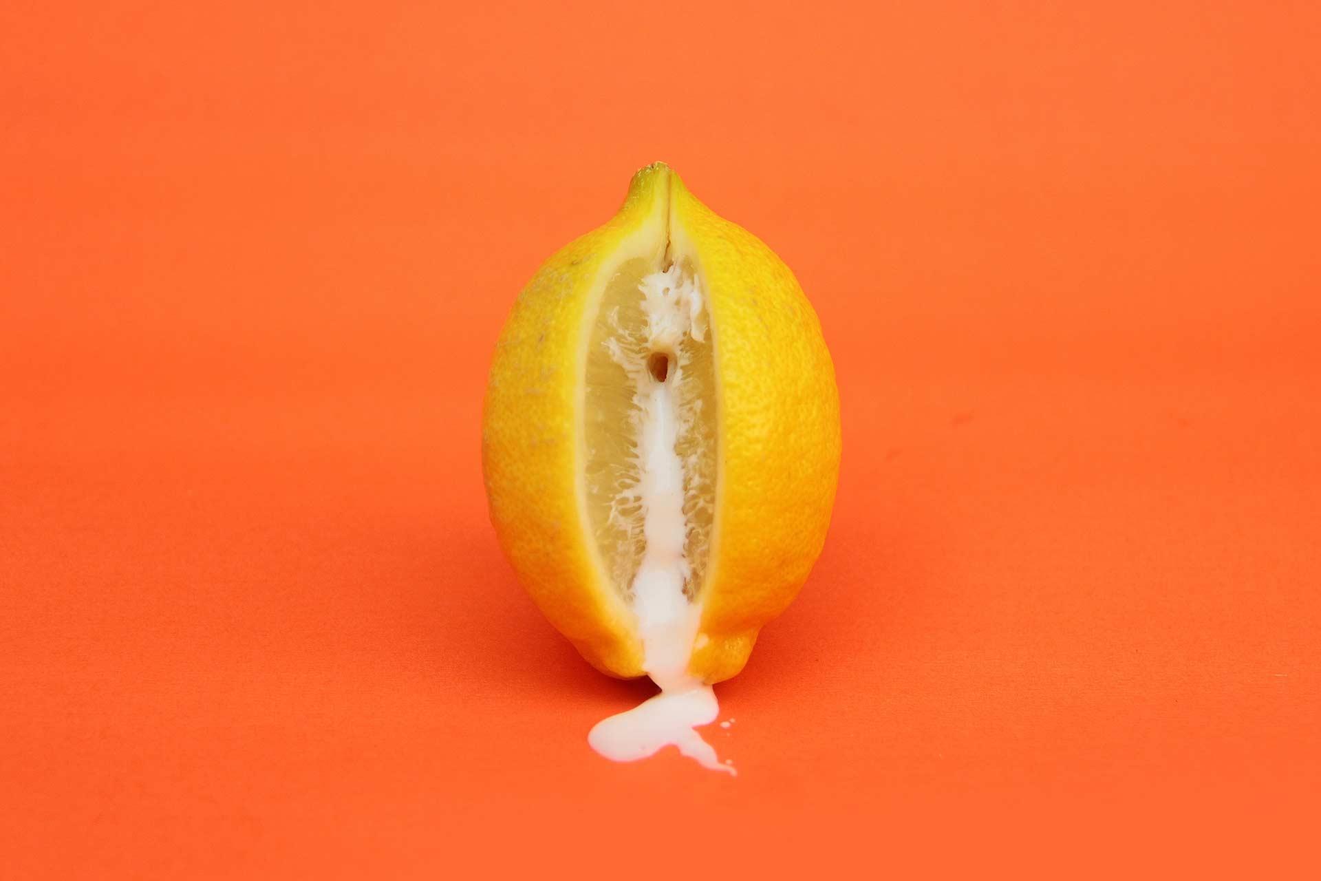 Fondo limón erótico